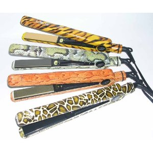 ISO Beauty Animal Print Titanium Flat Iron